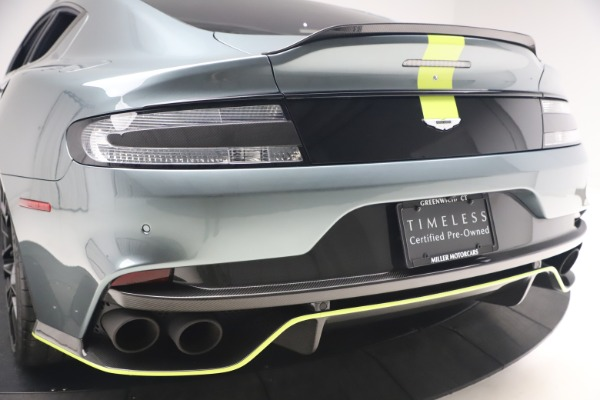 Used 2019 Aston Martin Rapide AMR Sedan for sale $187,900 at Alfa Romeo of Greenwich in Greenwich CT 06830 26