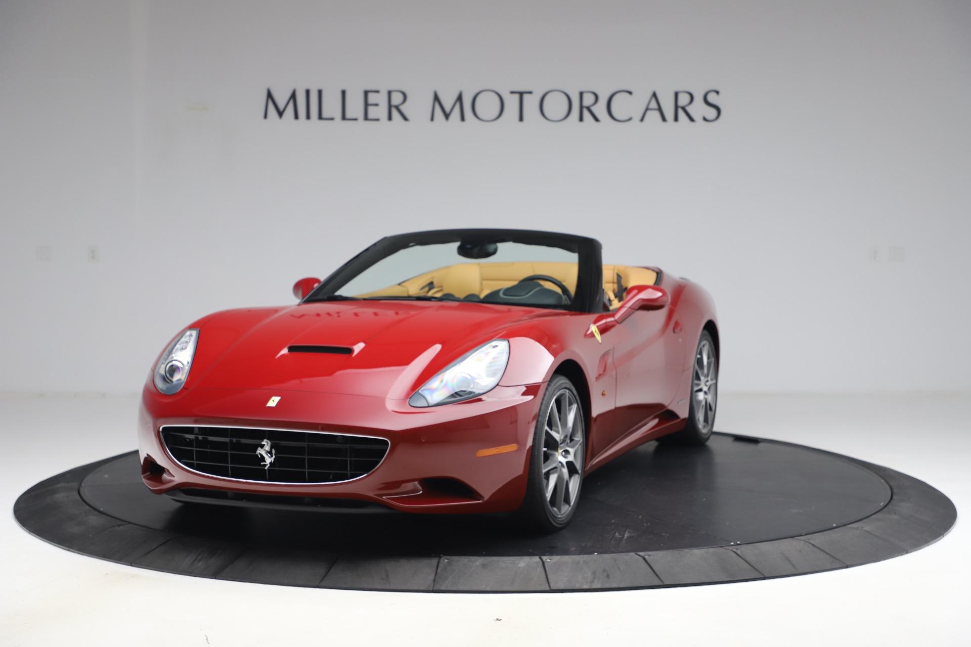 Used 2014 Ferrari California 30 for sale Sold at Alfa Romeo of Greenwich in Greenwich CT 06830 1