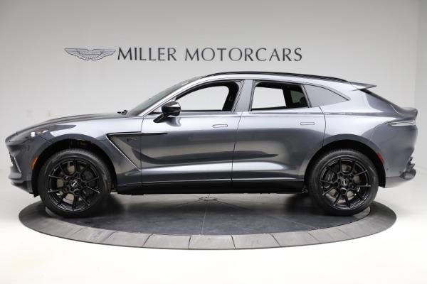 New 2021 Aston Martin DBX for sale $201,586 at Alfa Romeo of Greenwich in Greenwich CT 06830 2