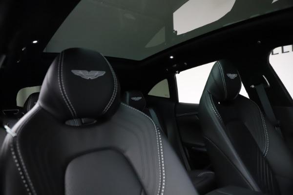 New 2021 Aston Martin DBX for sale $201,586 at Alfa Romeo of Greenwich in Greenwich CT 06830 22