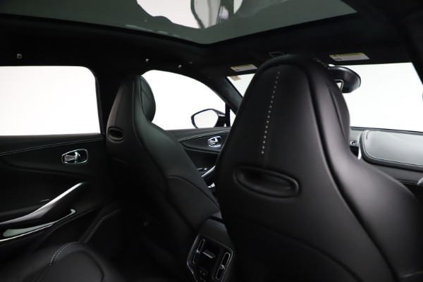 New 2021 Aston Martin DBX for sale $201,586 at Alfa Romeo of Greenwich in Greenwich CT 06830 23