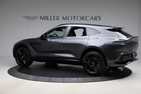 New 2021 Aston Martin DBX for sale $201,586 at Alfa Romeo of Greenwich in Greenwich CT 06830 3