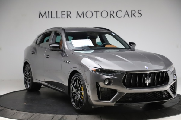 New 2021 Maserati Levante S Q4 GranSport for sale $108,235 at Alfa Romeo of Greenwich in Greenwich CT 06830 11