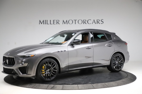 New 2021 Maserati Levante S Q4 GranSport for sale $108,235 at Alfa Romeo of Greenwich in Greenwich CT 06830 2