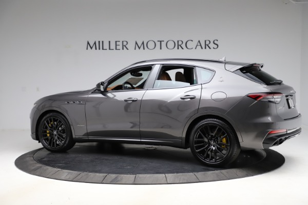 New 2021 Maserati Levante S Q4 GranSport for sale $108,235 at Alfa Romeo of Greenwich in Greenwich CT 06830 4