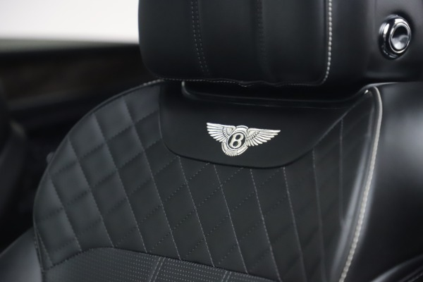 Used 2018 Bentley Bentayga W12 Signature Edition for sale $149,900 at Alfa Romeo of Greenwich in Greenwich CT 06830 21