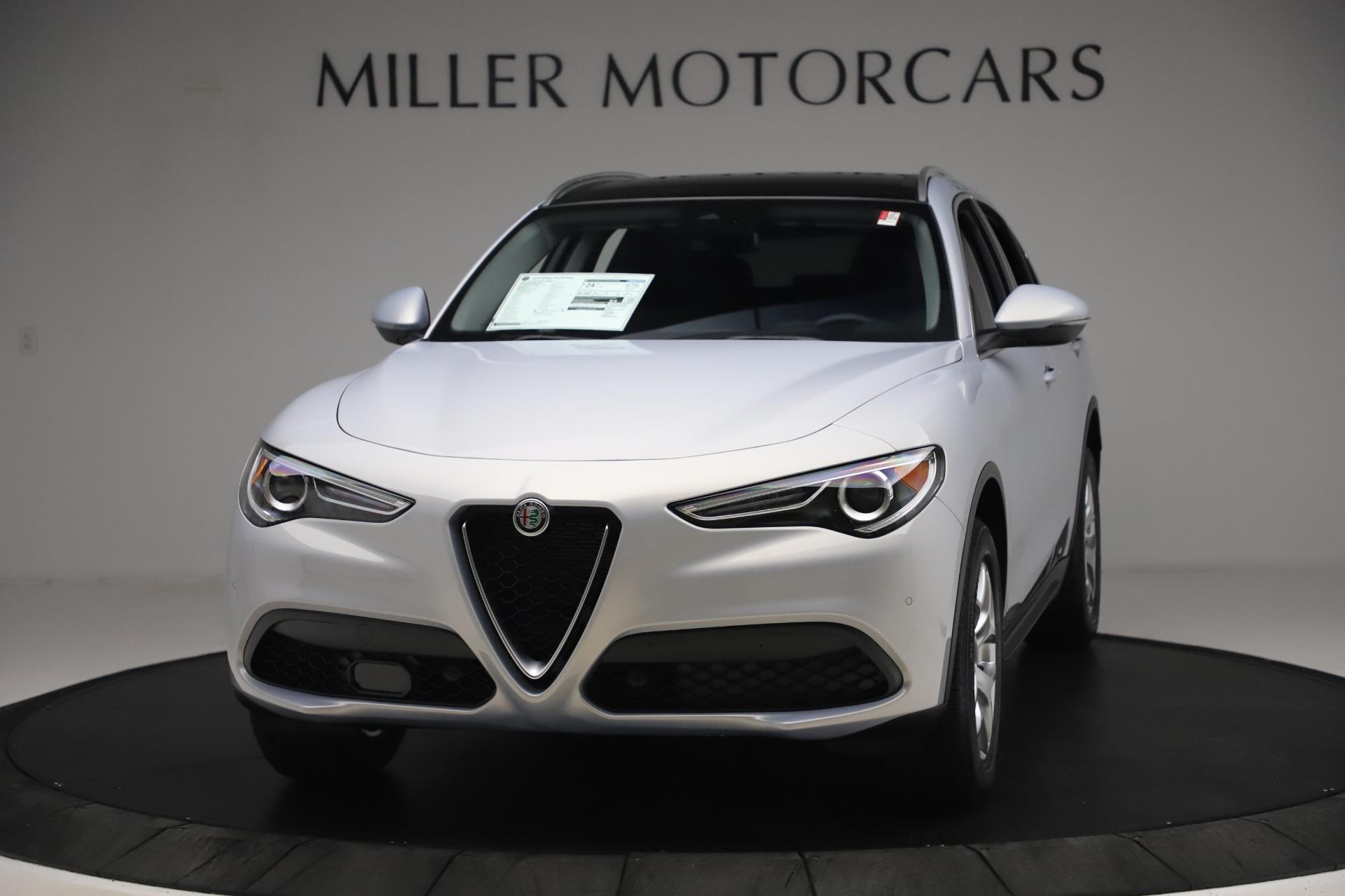 New 2020 Alfa Romeo Stelvio Q4 for sale Sold at Alfa Romeo of Greenwich in Greenwich CT 06830 1