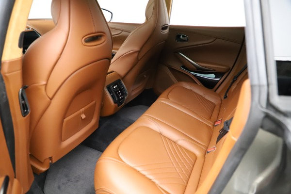 New 2021 Aston Martin DBX for sale $226,136 at Alfa Romeo of Greenwich in Greenwich CT 06830 16