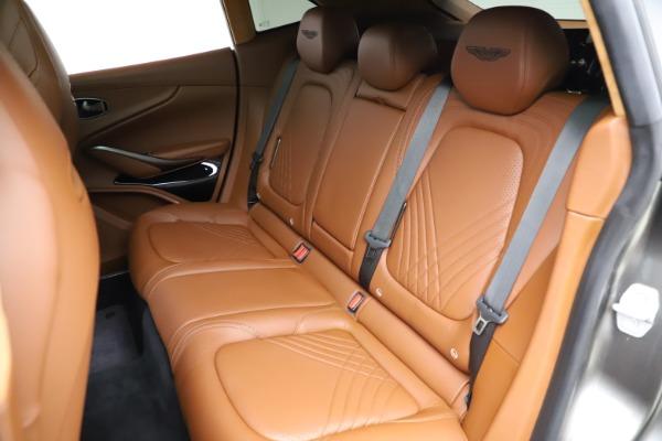 New 2021 Aston Martin DBX for sale $226,136 at Alfa Romeo of Greenwich in Greenwich CT 06830 17