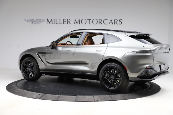 New 2021 Aston Martin DBX for sale $226,136 at Alfa Romeo of Greenwich in Greenwich CT 06830 3