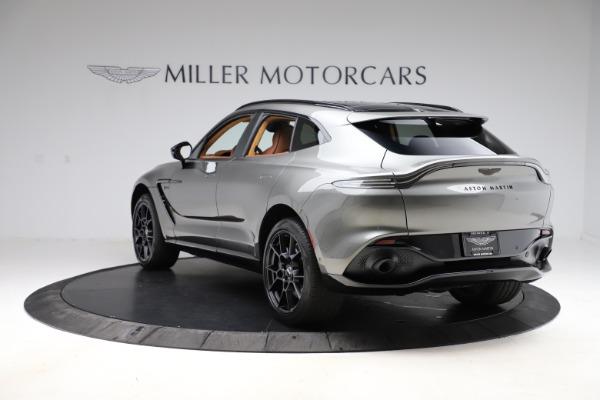 New 2021 Aston Martin DBX for sale $226,136 at Alfa Romeo of Greenwich in Greenwich CT 06830 4