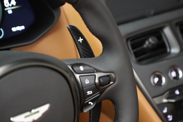 New 2021 Aston Martin DBS Superleggera Volante Convertible for sale $402,786 at Alfa Romeo of Greenwich in Greenwich CT 06830 19