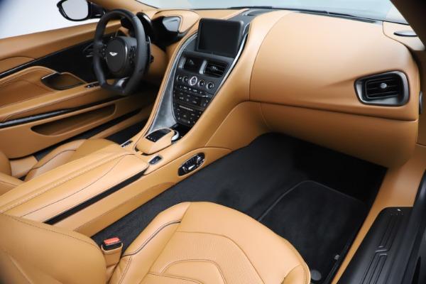 New 2021 Aston Martin DBS Superleggera Volante Convertible for sale $402,786 at Alfa Romeo of Greenwich in Greenwich CT 06830 21