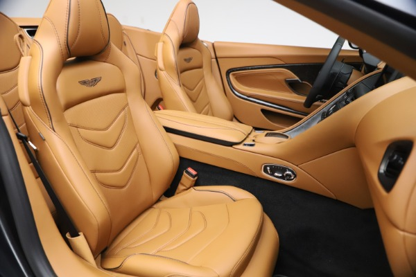 New 2021 Aston Martin DBS Superleggera Volante Convertible for sale $402,786 at Alfa Romeo of Greenwich in Greenwich CT 06830 23