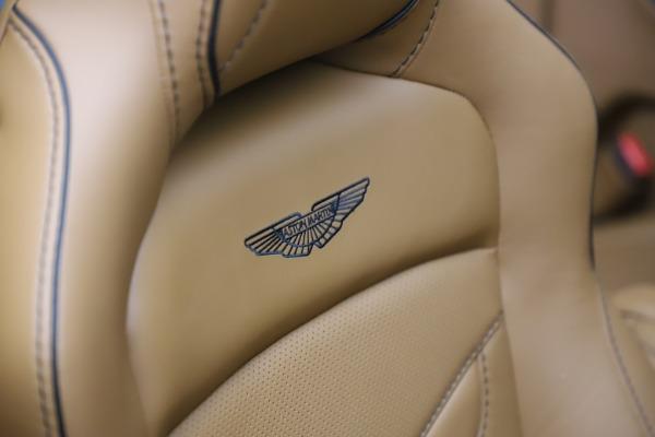 New 2021 Aston Martin DBS Superleggera Volante Convertible for sale $402,786 at Alfa Romeo of Greenwich in Greenwich CT 06830 24