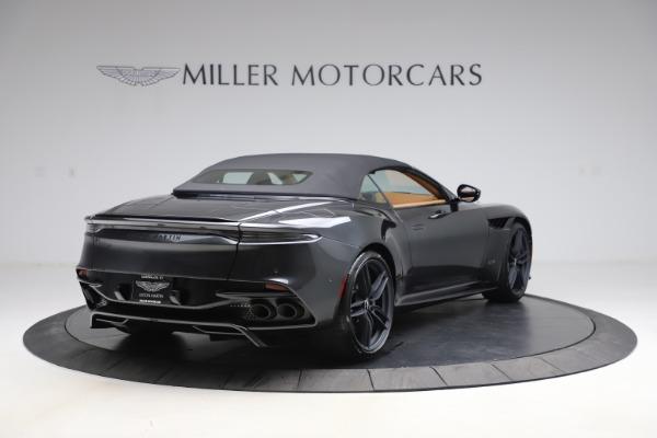 New 2021 Aston Martin DBS Superleggera Volante Convertible for sale $402,786 at Alfa Romeo of Greenwich in Greenwich CT 06830 28