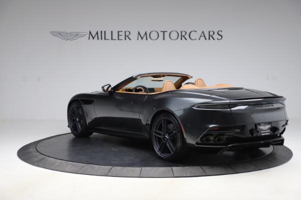 New 2021 Aston Martin DBS Superleggera Volante Convertible for sale $402,786 at Alfa Romeo of Greenwich in Greenwich CT 06830 4