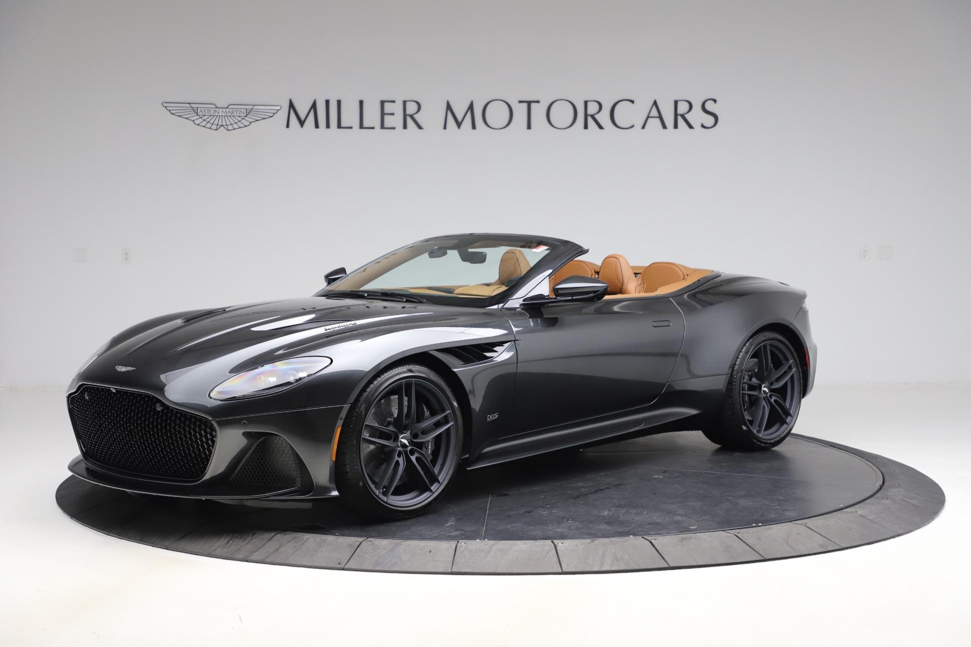 New 2021 Aston Martin DBS Superleggera Volante Convertible for sale $402,786 at Alfa Romeo of Greenwich in Greenwich CT 06830 1