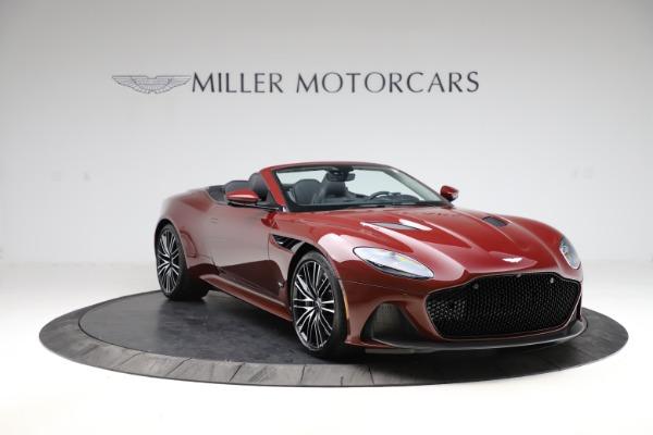 New 2021 Aston Martin DBS Superleggera Volante for sale $362,486 at Alfa Romeo of Greenwich in Greenwich CT 06830 10