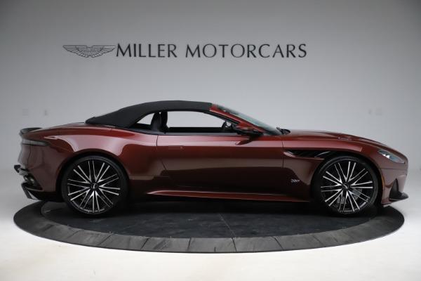 New 2021 Aston Martin DBS Superleggera Volante for sale $362,486 at Alfa Romeo of Greenwich in Greenwich CT 06830 12