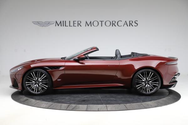 New 2021 Aston Martin DBS Superleggera Volante for sale $362,486 at Alfa Romeo of Greenwich in Greenwich CT 06830 2