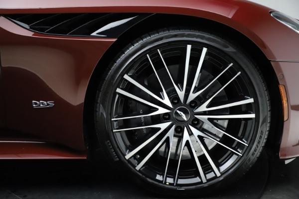 New 2021 Aston Martin DBS Superleggera Volante for sale $362,486 at Alfa Romeo of Greenwich in Greenwich CT 06830 24