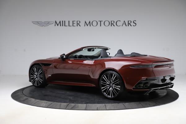 New 2021 Aston Martin DBS Superleggera Volante for sale $362,486 at Alfa Romeo of Greenwich in Greenwich CT 06830 3