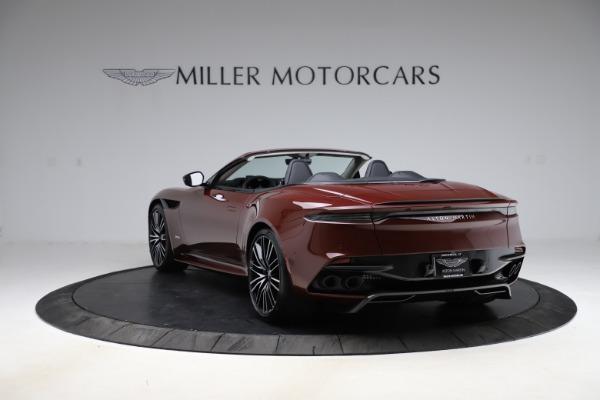 New 2021 Aston Martin DBS Superleggera Volante for sale $362,486 at Alfa Romeo of Greenwich in Greenwich CT 06830 4
