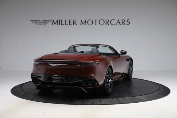 New 2021 Aston Martin DBS Superleggera Volante for sale $362,486 at Alfa Romeo of Greenwich in Greenwich CT 06830 6