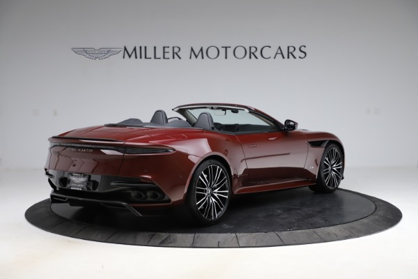 New 2021 Aston Martin DBS Superleggera Volante for sale $362,486 at Alfa Romeo of Greenwich in Greenwich CT 06830 7