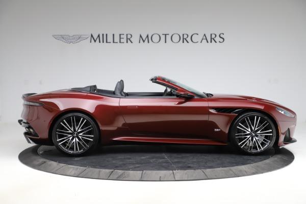 New 2021 Aston Martin DBS Superleggera Volante for sale $362,486 at Alfa Romeo of Greenwich in Greenwich CT 06830 8
