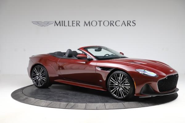 New 2021 Aston Martin DBS Superleggera Volante for sale $362,486 at Alfa Romeo of Greenwich in Greenwich CT 06830 9