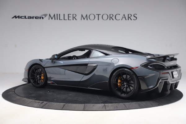 Used 2019 McLaren 600LT Coupe for sale $229,900 at Alfa Romeo of Greenwich in Greenwich CT 06830 3