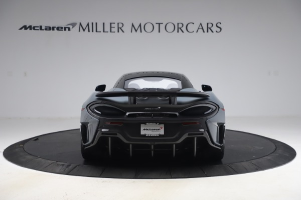Used 2019 McLaren 600LT Coupe for sale $229,900 at Alfa Romeo of Greenwich in Greenwich CT 06830 5