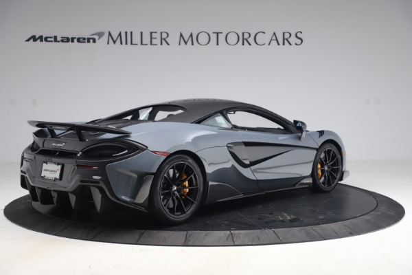 Used 2019 McLaren 600LT Coupe for sale $229,900 at Alfa Romeo of Greenwich in Greenwich CT 06830 7