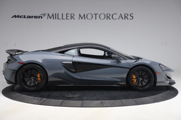 Used 2019 McLaren 600LT Coupe for sale $229,900 at Alfa Romeo of Greenwich in Greenwich CT 06830 8