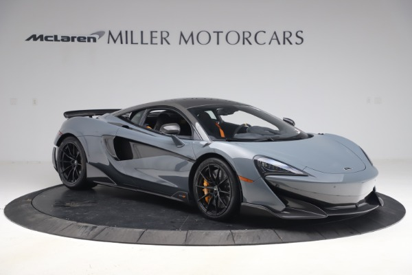 Used 2019 McLaren 600LT Coupe for sale $229,900 at Alfa Romeo of Greenwich in Greenwich CT 06830 9
