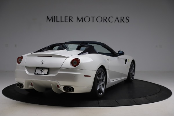 Used 2011 Ferrari 599 SA Aperta for sale $1,379,000 at Alfa Romeo of Greenwich in Greenwich CT 06830 7