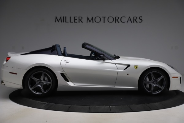 Used 2011 Ferrari 599 SA Aperta for sale $1,379,000 at Alfa Romeo of Greenwich in Greenwich CT 06830 9