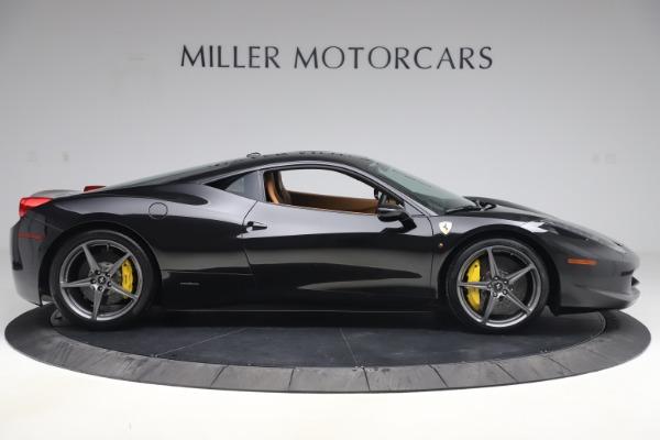 Used 2012 Ferrari 458 Italia for sale Sold at Alfa Romeo of Greenwich in Greenwich CT 06830 9