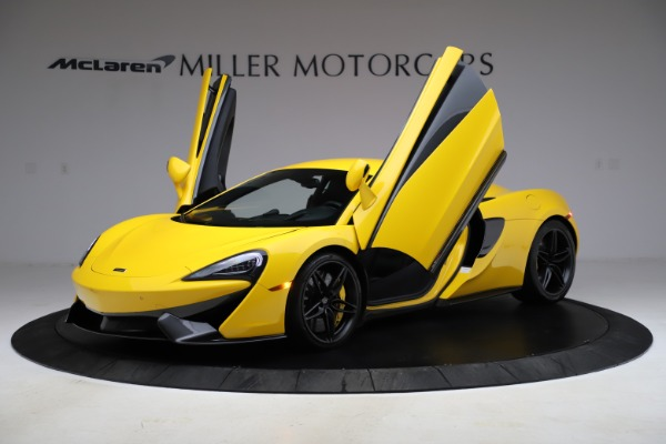 Used 2016 McLaren 570S Coupe for sale Call for price at Alfa Romeo of Greenwich in Greenwich CT 06830 12
