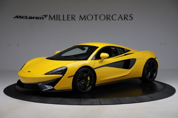 Used 2016 McLaren 570S Coupe for sale Call for price at Alfa Romeo of Greenwich in Greenwich CT 06830 1