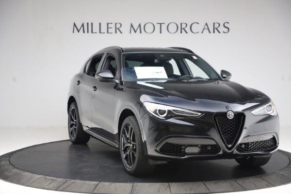 New 2020 Alfa Romeo Stelvio Ti Sport Q4 for sale Sold at Alfa Romeo of Greenwich in Greenwich CT 06830 11