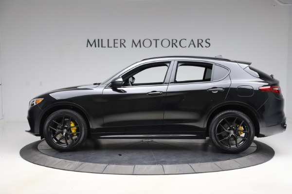 New 2020 Alfa Romeo Stelvio Ti Sport Q4 for sale Sold at Alfa Romeo of Greenwich in Greenwich CT 06830 3