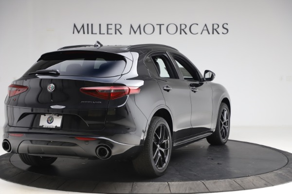 New 2020 Alfa Romeo Stelvio Ti Sport Q4 for sale Sold at Alfa Romeo of Greenwich in Greenwich CT 06830 7