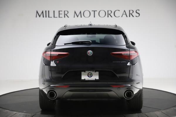 New 2020 Alfa Romeo Stelvio Ti Sport Q4 for sale $51,795 at Alfa Romeo of Greenwich in Greenwich CT 06830 6