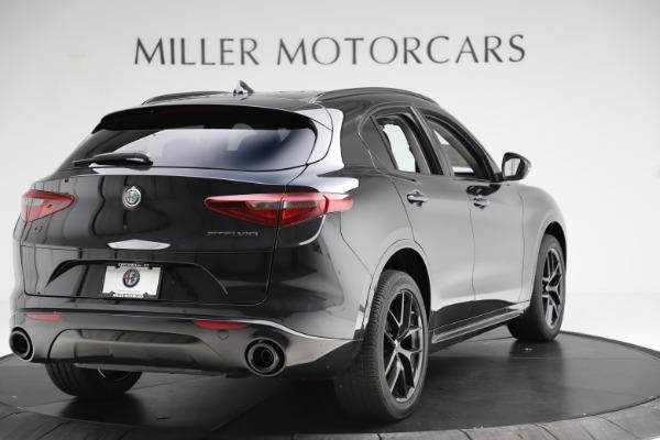New 2020 Alfa Romeo Stelvio Ti Sport Q4 for sale $51,795 at Alfa Romeo of Greenwich in Greenwich CT 06830 7