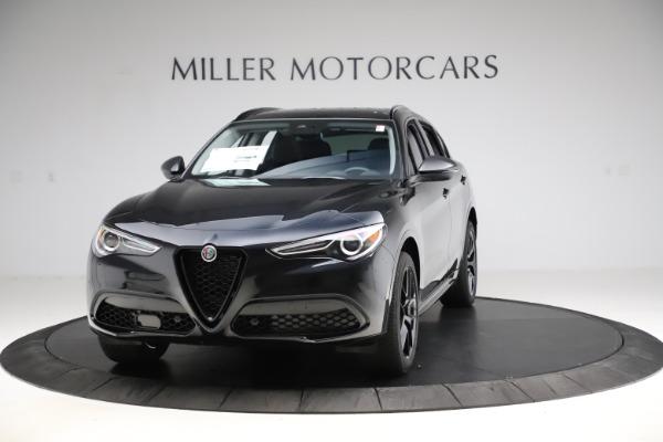 New 2020 Alfa Romeo Stelvio Ti Sport Q4 for sale $51,795 at Alfa Romeo of Greenwich in Greenwich CT 06830 1