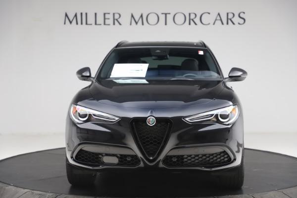 New 2020 Alfa Romeo Stelvio Ti Sport Q4 for sale $49,945 at Alfa Romeo of Greenwich in Greenwich CT 06830 12
