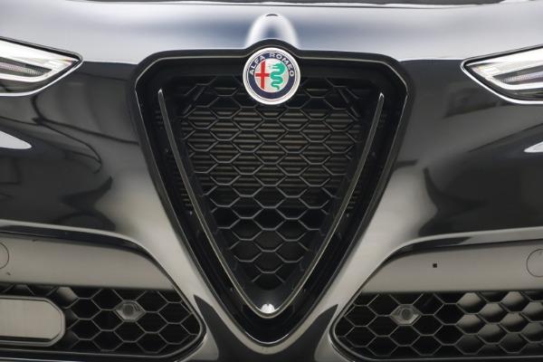 New 2020 Alfa Romeo Stelvio Ti Sport Q4 for sale $49,945 at Alfa Romeo of Greenwich in Greenwich CT 06830 13